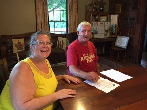 Richard and Konnie Woods, our first family selected for our Home Ownership Made Easy program