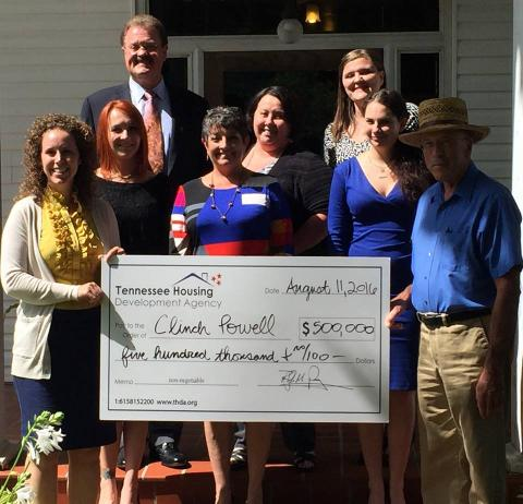 HOME grant from THDA